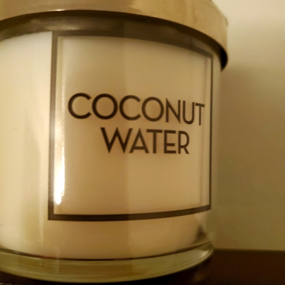 Bath & Body Works Coconut Water Tester Candle (Mix